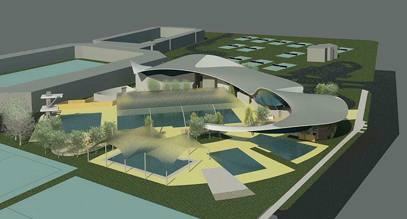 Tobruk Memorial Pool Redevelopment